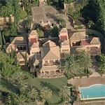 Simon Cowell's house (rented)