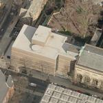 """Yale University Art Gallery"" by Louis Kahn (Birds Eye)"