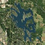 Lake Tapps (Bing Maps)