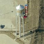 Diamond Jo Casino Water Tower (Birds Eye)
