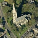 """All Souls Church"" by Sir George Gilbert Scott (Birds Eye)"
