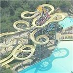 Largest water park in California (Birds Eye)