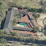'Thaxton House' by Frank Lloyd Wright (Birds Eye)