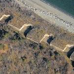 Fort Standish on Lovell Island (Birds Eye)