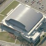 Mizzou Arena (Birds Eye)