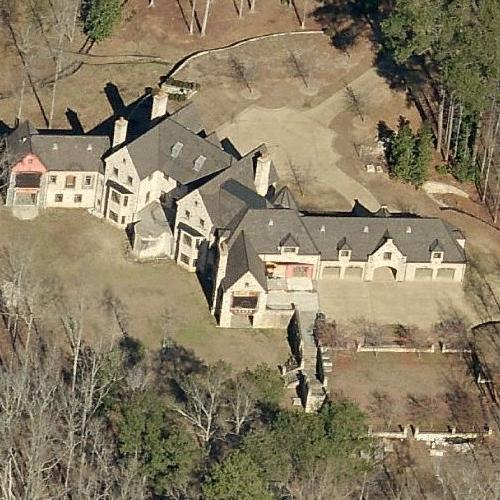 Michael Todd Chrisley's House (former) in Atlanta, GA ...