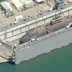 Floating dry dock (AFDM) (Birds Eye)