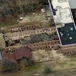 "Abandoned Building Seen In ""Vatos"" (""The Walking Dead"") (Birds Eye)"