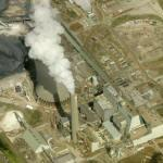 LG&E's Trimble County Coal-fired Generation Plant Showing 5-mile Emission Plume