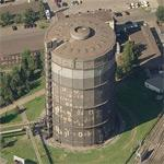 Gasometer Voestalpine (Birds Eye)