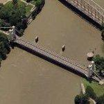 Waco Suspension Bridge (Birds Eye)