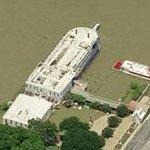 Brazos Belle Riverboat (former location) (Birds Eye)