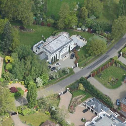 Jamie Redknapp 39 S House In Oxshott United Kingdom Bing Maps