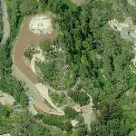 Site of Proposed 85,000 sqft Beverly Hills Mystery Mega-Mansion (Birds Eye)