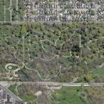 Mound Cemetery (Bing Maps)