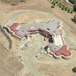 Yuri Milner's house (Bing Maps)