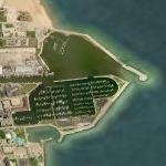 Racine, WI Harbor (Bing Maps)