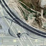 """Matrix Reloaded"" Freeway Chase - Former Naval Air Station (Bing Maps)"