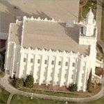 LDS Temple - St. George (Birds Eye)
