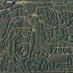 Crazy Corn Maze 2006 (Bing Maps)