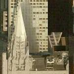 'Chicago Temple Building' by Holabird & Roche (Birds Eye)
