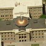 Arizona State Capitol and Park (Birds Eye)