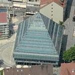 Pyramid of the Stadtbibliothek - State Library