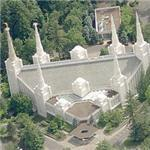 LDS Temple - Portland (Bing Maps)