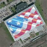 World's largest flag (Bing Maps)