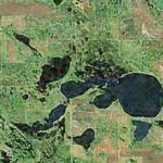 Kilgore Lake Pond (Geog. Center of North America) (Bing Maps)