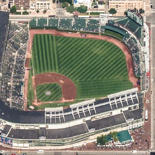 Wrigley Field (Birds Eye)
