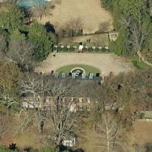Charles R Morgan's House (Former) (Birds Eye)