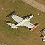 C-131D, C-47 and other planes on static display (Bing Maps)