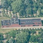 New crematory of the of Bispebjerg Cemetery