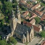 Josephkirche - St. Joseph's church (Birds Eye)