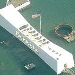 USS Arizona (BB-39) Memorial (Birds Eye)