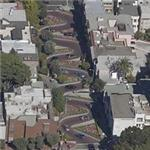 Lombard Street - crookedest street in the US