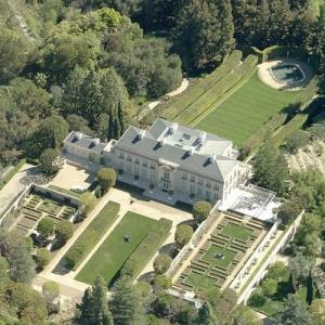 Beverly Hillbillies Mansion (Birds Eye)