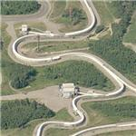 1988 Winter Olympics Bobsled Course - Calgary (Birds Eye)