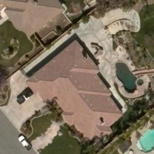 Dan and Laura Dotson's House (Storage Wars Auctioneers) (Bing Maps)