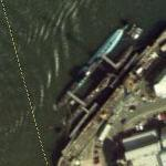 Two British Submarines (Bing Maps)