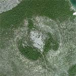 Newberry Volcano and Caldera (Bing Maps)