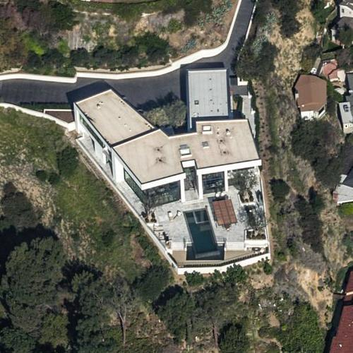 L A Houses: Peter Thiel's House In Los Angeles, CA (Google Maps) (#2
