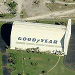 Goodyear blimp hangar (Birds Eye)