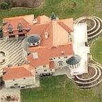 Manuel C. Pires' Estate (Most Expensive Home in Oxford, CT) (Birds Eye)