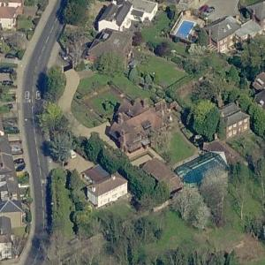 Brad Pitt and Angelina Jolie's House (Birds Eye)