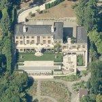 Bruce & Ann Blume's House (site of President Obama Fundraiser 10 May 2012) (Birds Eye)