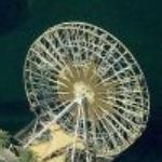Mickey's Fun Wheel (Disney California Adventure) (Birds Eye)