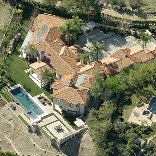 "Dwayne ""The Rock"" Johnsons' House (Former) in Hidden Hills ..."
