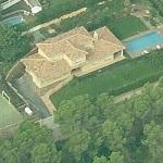 Lionel Messi's House (Birds Eye)